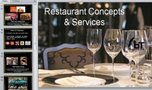 Restaurant Concepts and Services