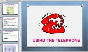 Using the Telephone (1)